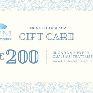 Linea estetica sem gift card